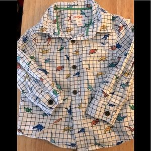Toddler boys button shirt by CAT&JACK